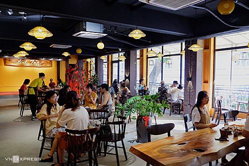 Quán trà làm bối cảnh phim Về nhà đi conẢnh: Lan Hương.