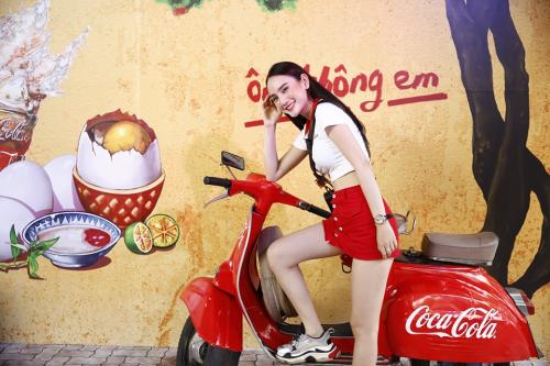 Các góc chụp ảnh đẹp mắt tại Lễ hội Ẩm thực Coca-Cola.