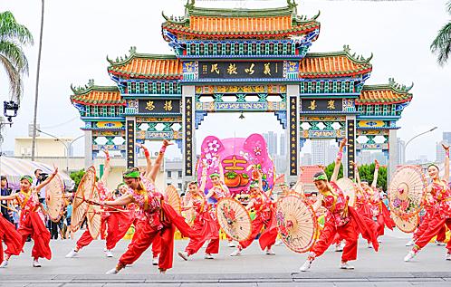 Lễ hội Nghĩa Dân năm 2019. Ảnh: Taiwan.
