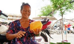 Gánh đu đủ gần nửa thế kỷ ở Sài Gòn