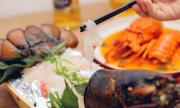 Món sashimi tôm hùm được nghệ sĩ Hồng Vân, Bảo Anh yêu thích