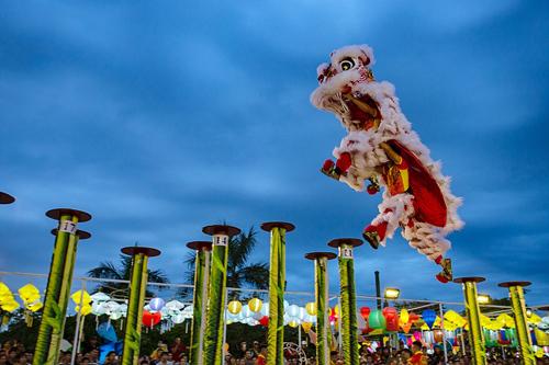 30 đội lân sư rồng nhiều quốc gia tranh tài tại Đà Nẵng - VnExpress Du lịch