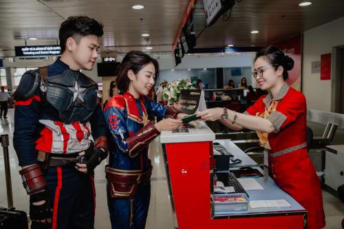 Vietjet là hãng hàng không giá rẻ tiên phong tại thị trường Việt Nam.
