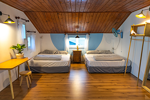 Phòng nghỉ tập thể, phòng riêng tại các homestay vẫn được đông du khách yêu thích tại Đà Lạt. Ảnh: Nomad Home Dalat.