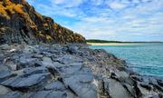 Vẻ đẹp của những tàn tích núi lửa dưới chân Bãi Xép