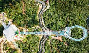 Cầu kính phá kỷ lục thế giới của Trung Quốc