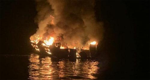 Tai nạn tàu khiế 34 người thiệt mạng. Ảnh: News.
