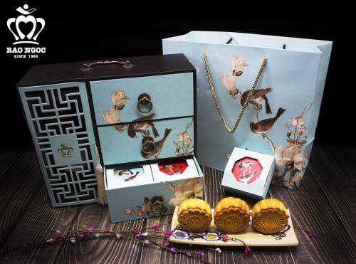 Đại diện Bảo Ngọc khẳng định hộp bánh Thu Nguyệt hợp để thực khách tặng khách hàng, người thân.