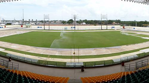 Sân Zerão có thể chứa tới 13.680 khán giả. Ảnh: Fabián Berrío.
