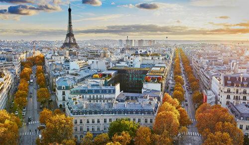 Paris luôn là điểm đến yêu thích của nhiều du khách trên thế giới. Ảnh: Telegraph.