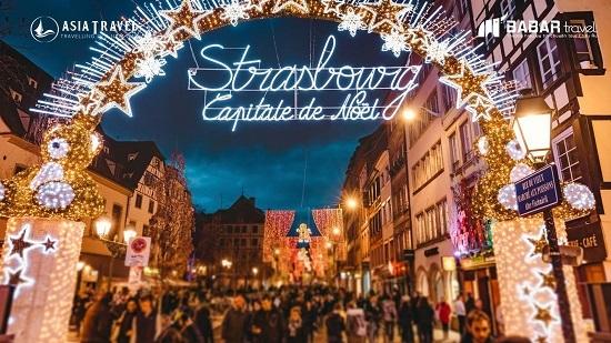 Strasbourg được coi là Thủ đô giáng sinh.
