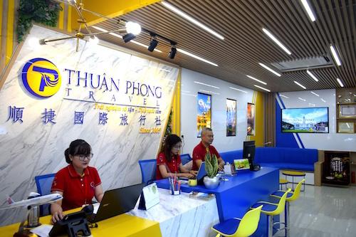 Trụ sở mới của Thuận Phong Travel.