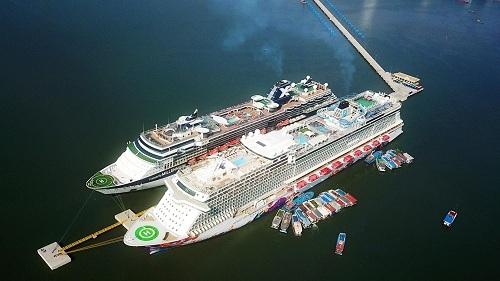 Cảng tàu khách quốc tế Hạ Long đã đón 32 chuyến tàu quốc tế từ đầu năm 2019.