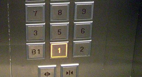 Những chiếc thang máy ở Trung Quốc cũng không có số 4. Ảnh: Tofugu.