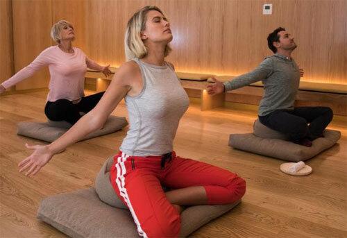 Nhiều người cho biết họ bất ngờ khi tại sân bay cũng có phòng tập thể dục. Ảnh: News,