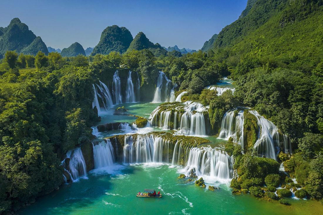 Thác Bản Giốc mùa đẹp nhất trong năm - VnExpress Du lịch