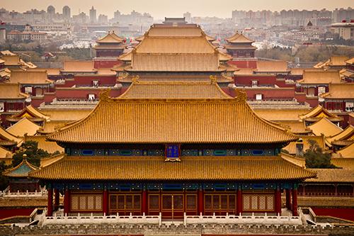 Tử Cấm Thành - quần thể cung điện bằng gỗ lớn nhất thế giới. Ảnh:Abe Yoffe/500px.