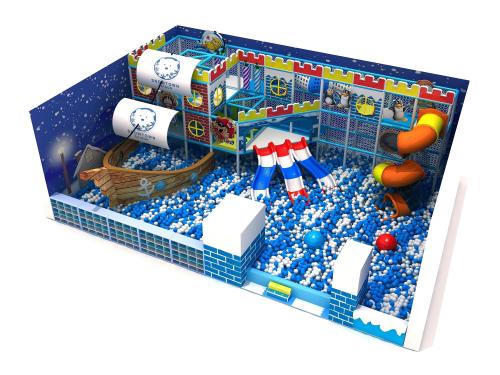 Khu trò chơi trẻ em (gồm các trò chơi nhà banh, lego mô hình, hệ thống cầu trượt) được thay mới toàn bộ theo mô hình Nhà banh Hải tặc với nhiều thử thách tăng cấp.