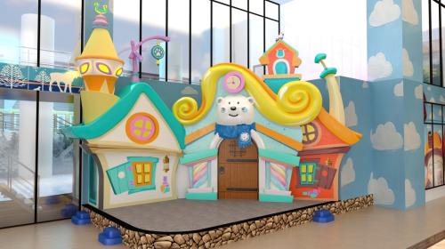Khu vực sân khấu Cổ Tích được trang trí theo phong cách cổ tích dành cho những tiết mục ảo thuật, biểu diễn nghệ thuật, biểu diễn múa hát của các nhân vật cổ tích.