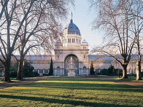 Tòa nhà hoàng gia là một điểm đến thu hút khách tham quan ởMelbourne. Ảnh Visit Victoria.