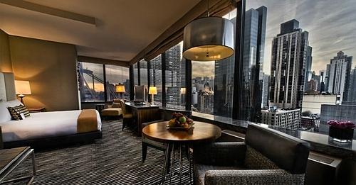 Việc trở thành khách hàng thân thiết của một khách sạn, cũng giúp bạn dễ dàng được nâng hạng phòng miễn phí hơn. Ảnh: Bentley hotel nyc.