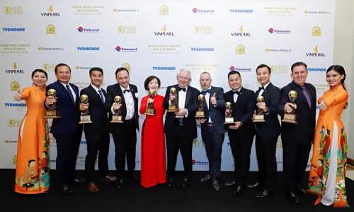 Vinpearl đạt 9 giải thưởng du lịch thế giới