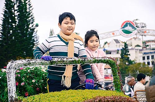 Dự kiến có khoảng 300.000 lượt khách tham gia Festival hoa Đà Lạt 2019. Ảnh: Phong Vinh.