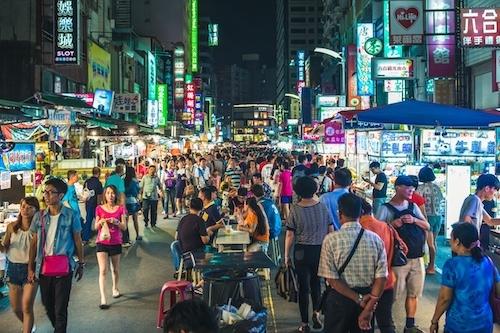 Chợ đêm Liuhe, Cao Hùng. Ảnh:Richie Chan.
