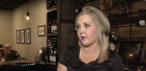 Samantha đã làm việctại nhà hàng từ năm 15 tuổi. Ảnh: Fox18.