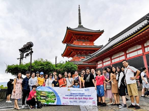 Tour Nhật Bản khởi hành mùng 1 Tết để du khách đón năm mới.