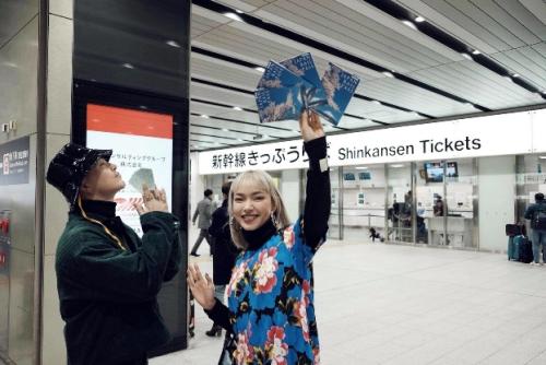 Châu Bùi gợi ý điểm check in đẹp ở Nhật Bản
