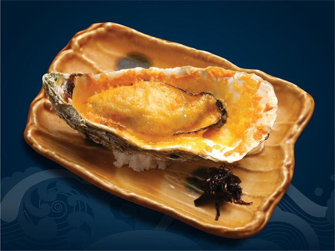 Magaki nướng bơ là một trong những món ăn được người Nhật yêu thích.