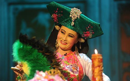 Thực hành tín ngưỡng thờ Mẫu tam phủ của người Việt được UNESCO công nhận là di sản văn hóa phi vật thể đại diện của nhân loại. Ảnh: Quang Minh.