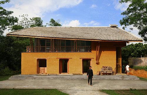 Dao LodgeNằm giữa làng văn hóa người Dao, xã Quản Bạ, homestay mang thiết kế nhà sàn truyền thống được nhiều du khách nước ngoài yêu thích. Nằm xa trung tâm, nơi đây mang dáng vẻ bình dị, ấm cúng. Ảnh: Archdaily/Vu Xuan Son.