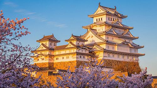 Năm 2018, Việt Nam đã đón 826.674 lượt khách tới từ Nhật Bản, chiếm 5,3% tổng số lượng khách quốc tế. Ảnh: Japanese Castles.