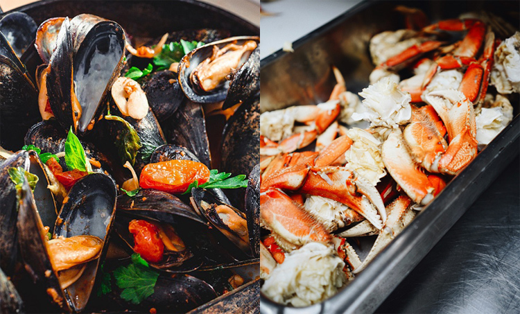 Vào mỗi tối thứ 3, 5 và 7, thực khách sẽ được chiêu đãi những bữa tiệc mang chủ đề khác nhau: tiệc tối phong cách Ý, đêm tiệc đặc sản ẩm thực châu Á, đến tiệc tối hải sản hoành tráng từ 18:00 đến 22:00.