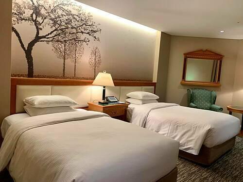 Khách sạn 5 sao trong tour cao cấp Hàn Quốc. Ảnh: Tugo.