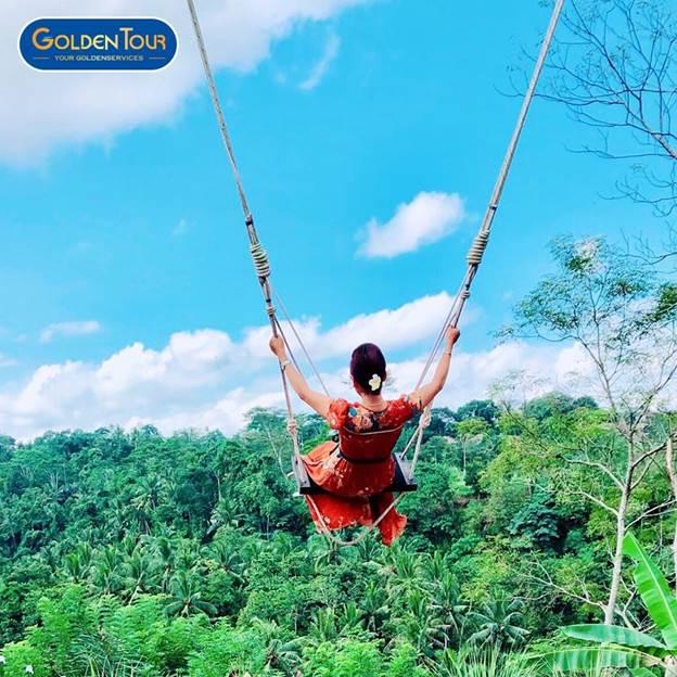 Xích đu tử thần Bali Swing.