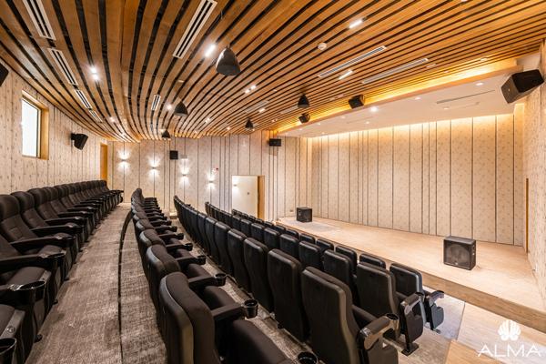 Khu nghỉ dưỡng ALMA sở hữu rạp chiếu phim riêng cùng nhiều tiện ích cao cấp