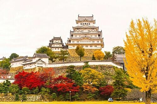 Lau đài Himeji đẹp nhất Nhật Bản. Ảnh: Luciano Mortula/Shutterstock.