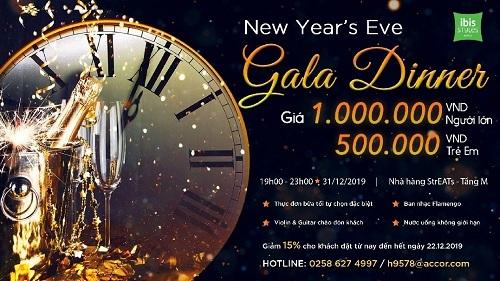 Tiệc buffet chào năm mới tại khách sạn ibis Styles Nha Trang - 5
