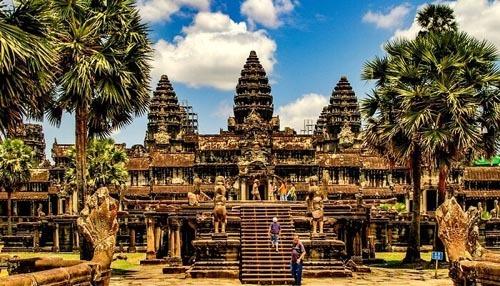 Angkor Wat là biểu tượng nổi tiếng nhất của Campuchia trong tâm trí của nhiều du khách quốc tế. Ảnh: Shutter stock.
