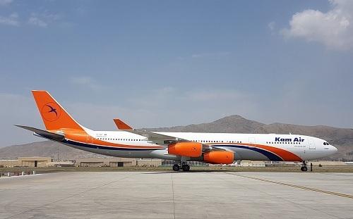 Kam Air có 13 máy bay trong đội tàu bay, trong đó có hai máy bay MD-87 của McDonnell Douglas và hai máy bay ATR 42-500. Tuổi trung bình của đội bay là khoảng 25 năm. Ảnh: Pajhwok Afghan News.