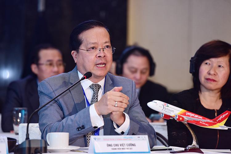 Ông Chu Việt Cường, thành viên HĐQT của Vietjet.