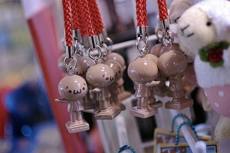 Gotachi đa dạng các hình dạng và công dụng. Ảnh: MIKI Yoshihito/Flickr.