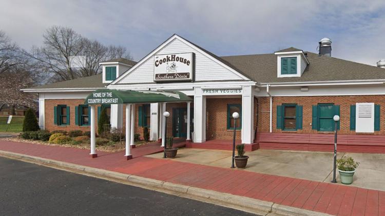 Nhà hàng Cookhouse nằm ở thị trấn Cornelius, bang North Carolina. Ảnh: Google Maps.
