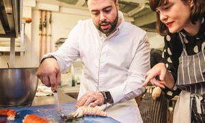 Nhà hàng đạt sao Michelin tái chế tất cả thực phẩm thừa
