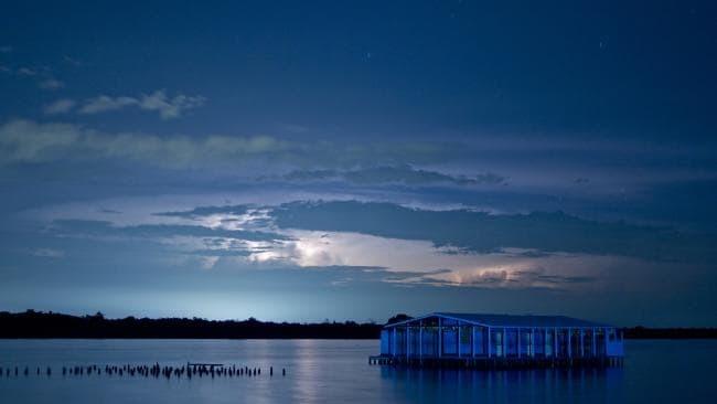 Mùa bão xảy ra tại khu vực hồ Catatumbo mạnh nhất vào khoảng tháng 10 và giảm bớt trong mùa khô hơn vào những tháng đầu năm. Ảnh: istock.