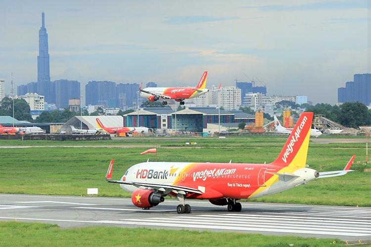 Vietjet hiện có 129 đường bay, phủ khắp các điểm đến tại Việt Nam và quốc tế.