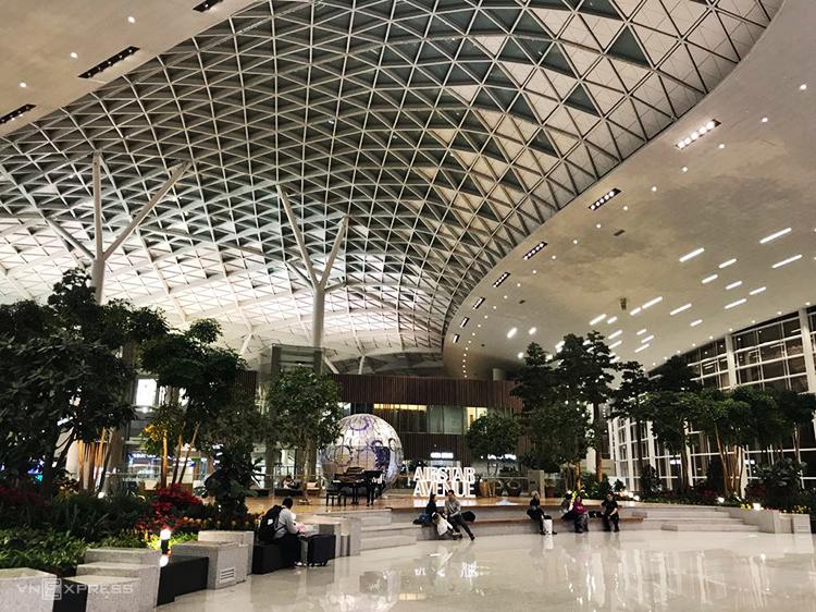 Chương trình miễn thị thực hiện áp dụng cho khách nước ngoài quá cảnh tại sân bay quốc tế Incheon. Ảnh:Phạm Huyền.
